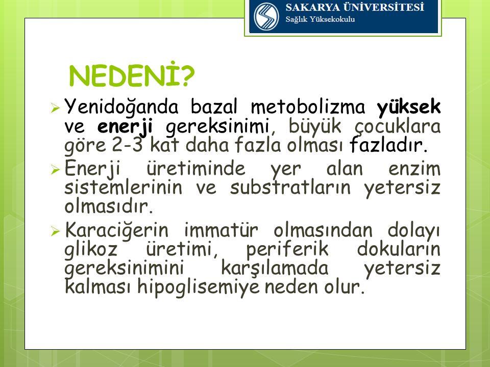 Hipokalsemide Hemşirelik Yaklaşımı Diğer ilaçlarla etkileşebileceğinden karıştırılmadan uygulanmalıdır Oral uygulamalarda sütlü mamalarla verilmelidir Konvülziyon sık görüldüğünden dış uyaranlar minimuma indirgenmelidir Ekstravazasyonu önlemek için damar yolu sık sık kontrol edilmelidir 39