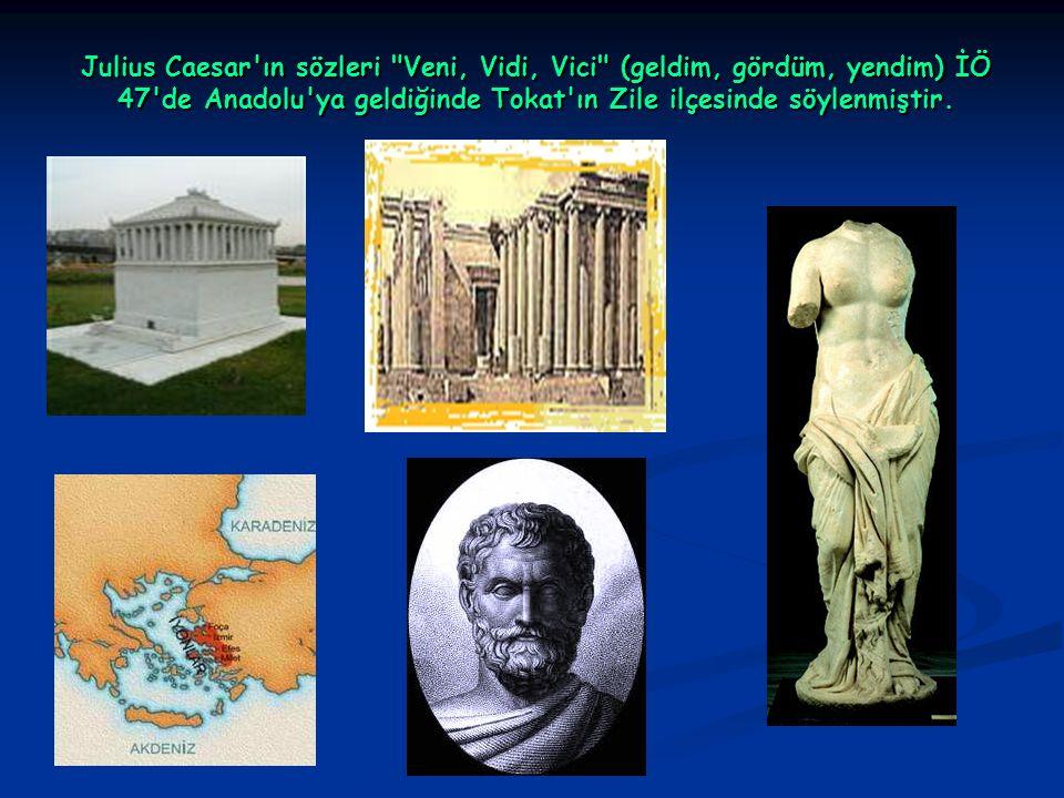 Julius Caesar'ın sözleri