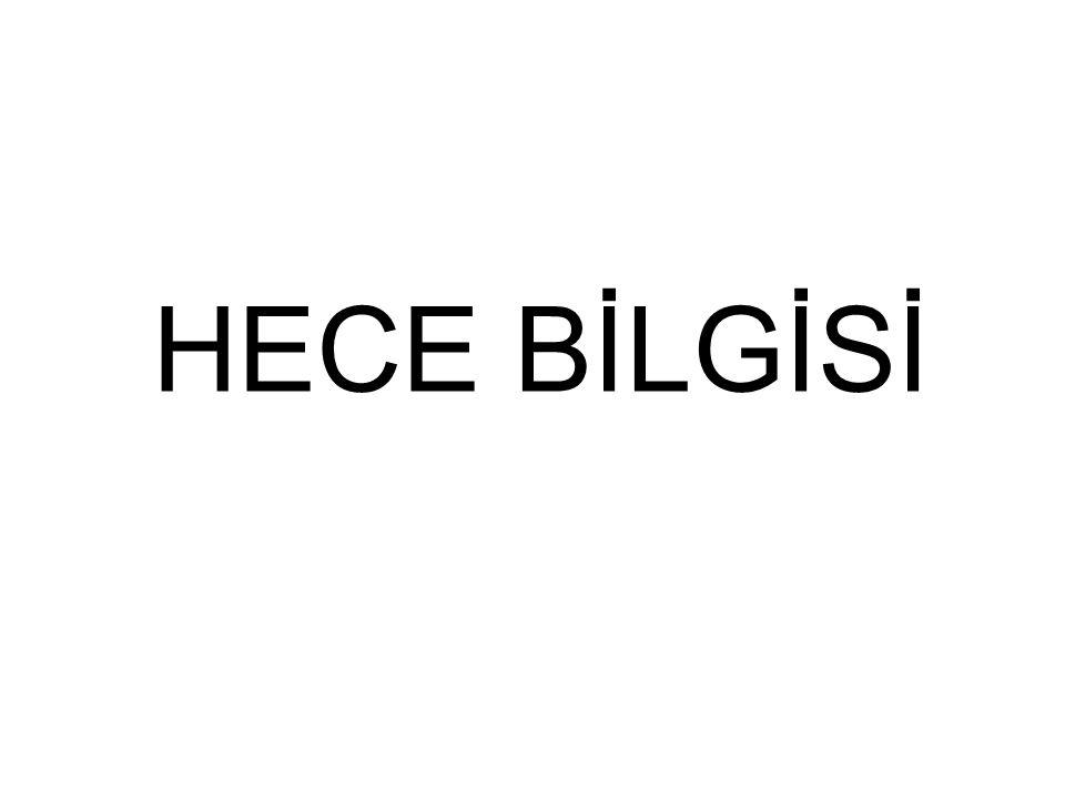 HECE BİLGİSİ
