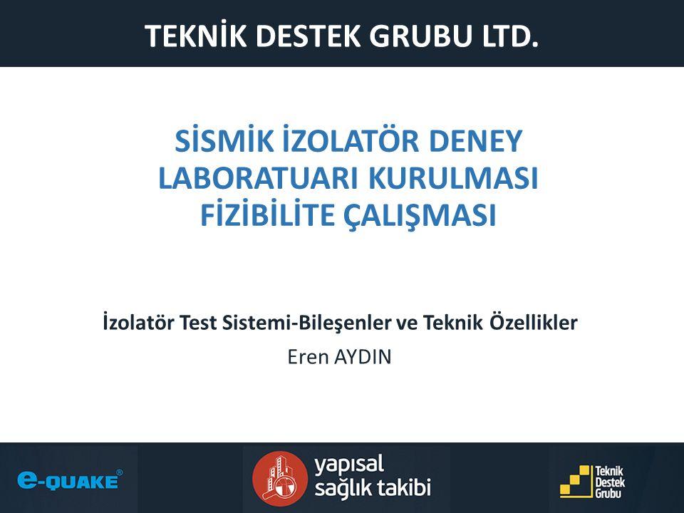 İzolatör Test Sistemi-Bileşenler ve Teknik Özellikler Eren AYDIN Eren AYDIN, Teknik Müdür – TDG Ltd.
