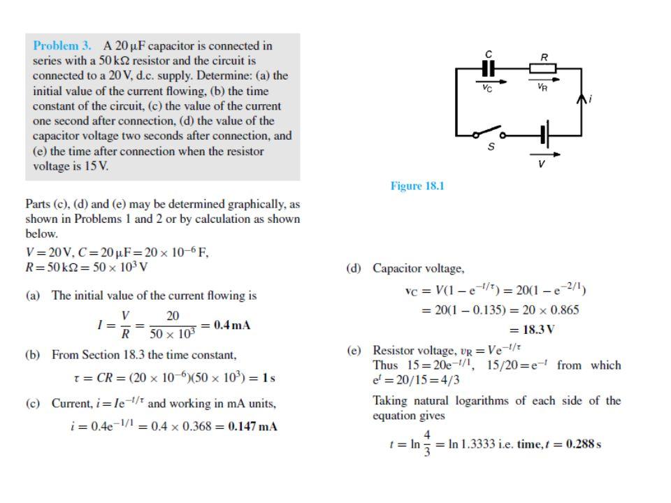 Eğer iletimde olan bu transistörün kollektöründe bulunan 1kohm'luk direnç 10 kohm olsaydı; I c = β x I B = 100x82.5 µ A = 8.25 mA 12 = 10000 I c + V CE 12 - 82.5 = V CE V CE = - 70.5V çıkacaktı ve bu gerilim değeri eşik gerilimi olan V γ = 0.7V dan küçük olduğundan Bu transistörün aktif lineer çalışma bölgesinde olamayacağı ve doymada (saturation) olduğu ortaya çıkacaktı.