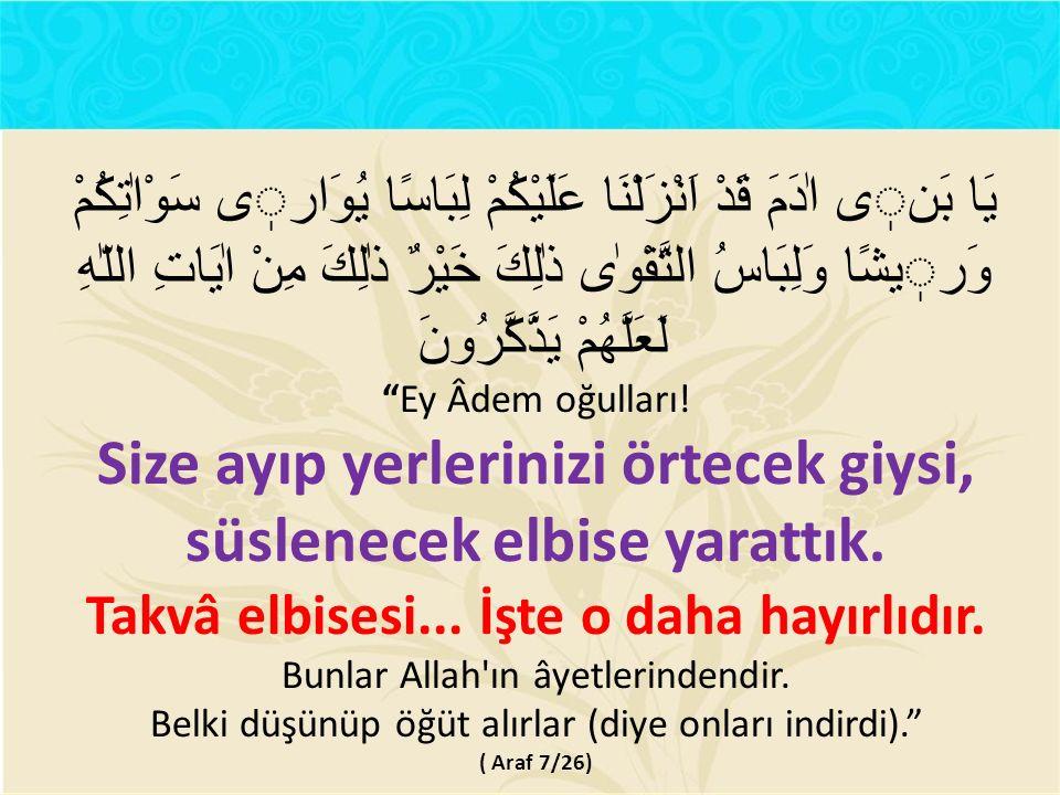 Allah'tan hayâ etmek, O'nun emirlerine karşı gelmekten, yasaklarına uymamaktan kaçınmak şeklinde dışa yansır.