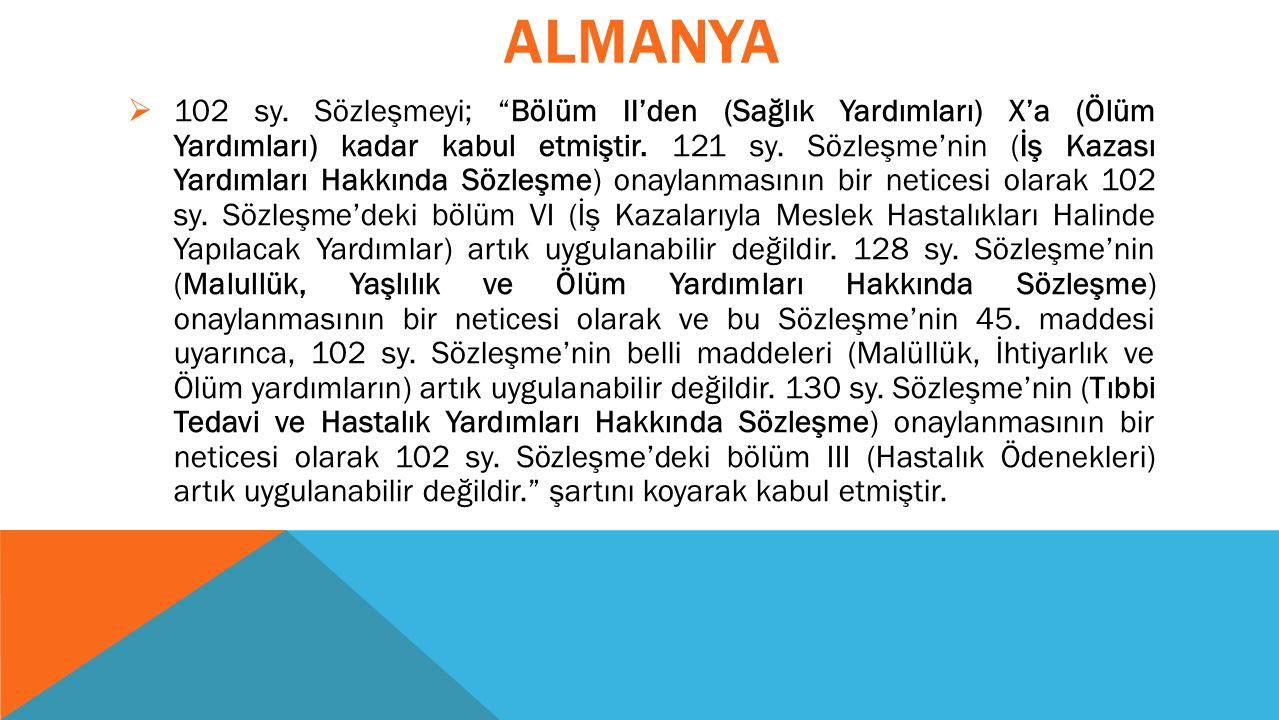 ALMANYA  102 sy.