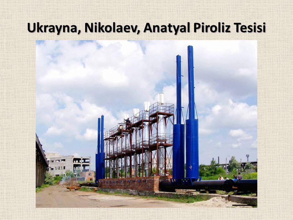 Ukrayna, Nikolaev, Anatyal Piroliz Tesisi