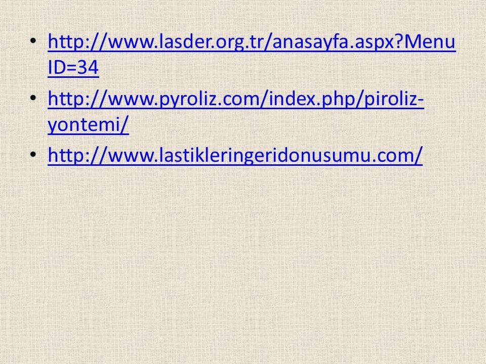 http://www.lasder.org.tr/anasayfa.aspx?Menu ID=34 http://www.lasder.org.tr/anasayfa.aspx?Menu ID=34 http://www.pyroliz.com/index.php/piroliz- yontemi/
