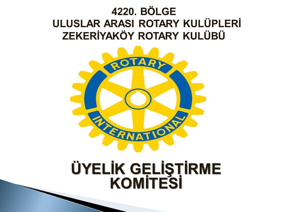  Çevreye kulübe hizmeti olan  Rotary içinden veya dışarıdan  35 yaşını geçmiş  Devam mecburiyeti, seçme ve seçilme hakkı olmayan  ödentileri kulüpçe ödenen ÜYEDİR Onursal üye; Kulüp üye sayısının % 5'ini geçmez, kendi kulübüne Onursal üye olamaz.