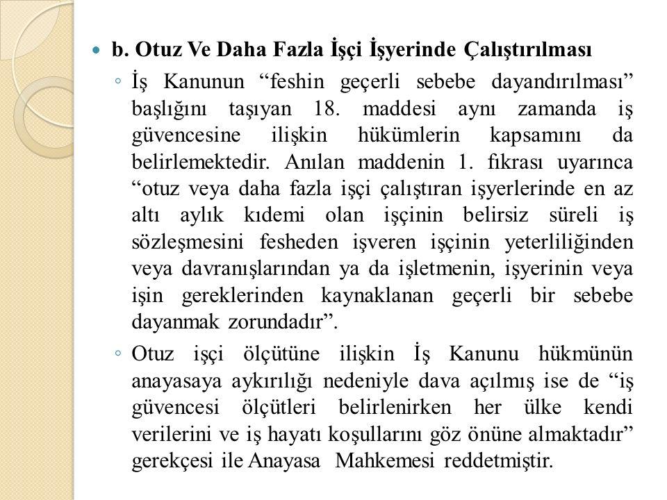 İş Kanununun 18.maddesinin 4.