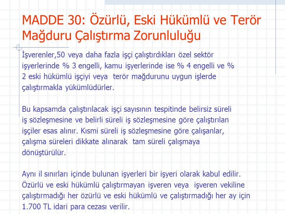 MADDE 41/63: Fazla Çalışma Ücreti/Çalışma Süresi Ülkenin genel yararları yahut işin niteliği veya üretimin artırılması gibi nedenlerle fazla çalışma yapılabilir.