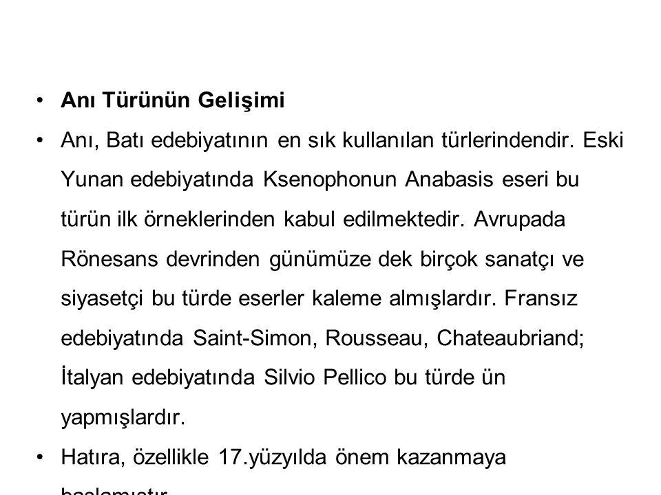 28 Gezi yazısının özellikleri şunlardır: Gezi yazılarında, gezilip görülen yerin bütün özellikleri ele alınır.