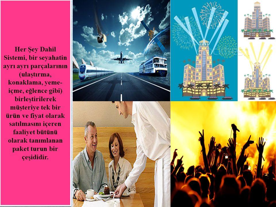 SÜREÇ Turizm ürünün ortaya çıkarılması ve sunulması sırasındaki her türlü etken turizm pazarlamasında süreçler unsuru içinde değerlendirilmektedir.