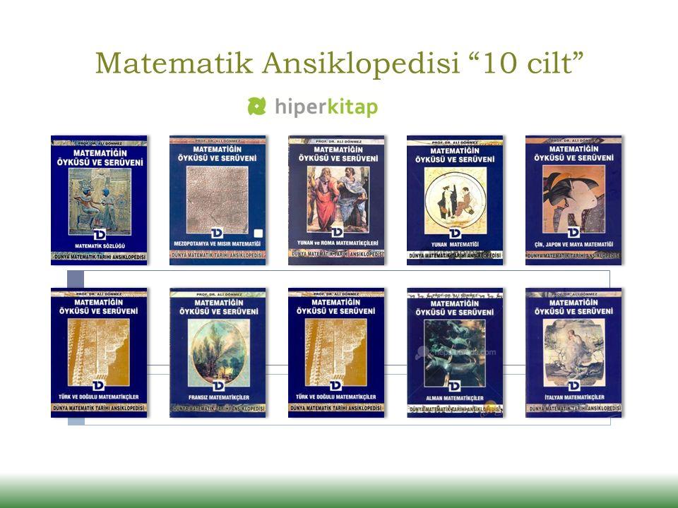 """Matematik Ansiklopedisi """"10 cilt"""""""