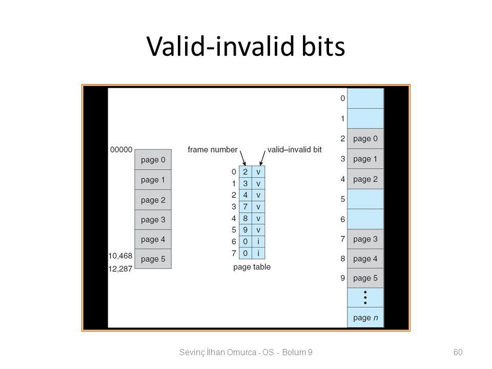 Valid-invalid bits Sevinç İlhan Omurca - OS - Bolum 960