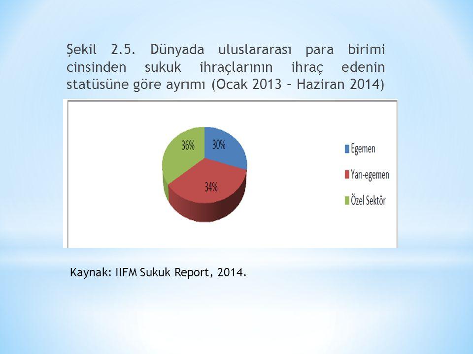 Şekil 2.5. Dünyada uluslararası para birimi cinsinden sukuk ihraçlarının ihraç edenin statüsüne göre ayrımı (Ocak 2013 – Haziran 2014) Kaynak: IIFM Su
