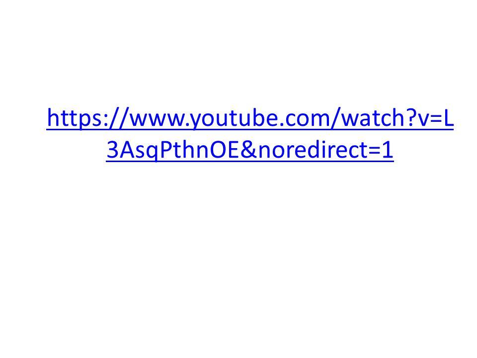 https://www.youtube.com/watch?v=L 3AsqPthnOE&noredirect=1
