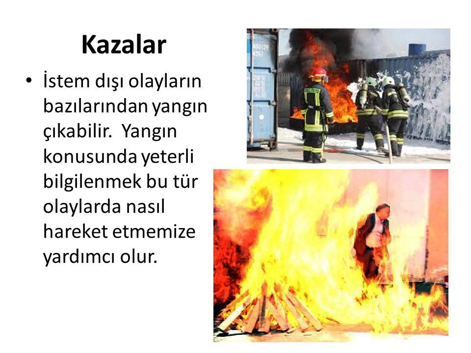 Sıçrama Kontrol altındaki bir ateşin, ihmal veya bilgisizlik sonucu yayılarak veya parlayıp- patlayarak sıçraması her zaman mümkündür.