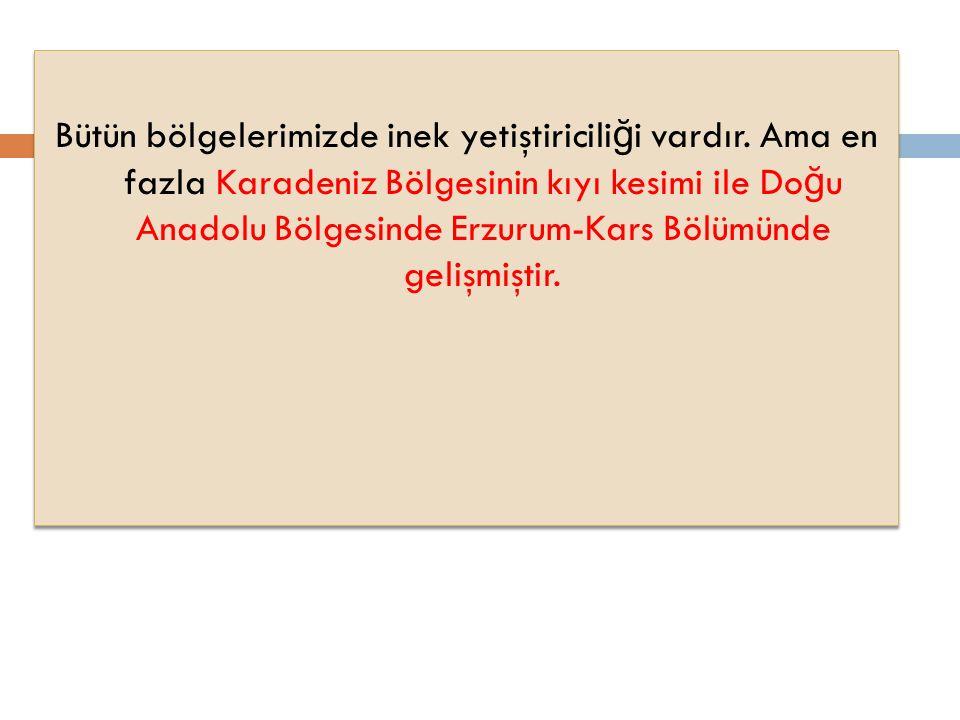 Akdeniz (Antalya, İ çel), İ ç Anadolu (Konya, Ankara, Ni ğ de), Marmara (Balıkesir, Çanakkale), Do ğ u Anadolu (Erzurum, Kars) bölgelerinde arıcılık faaliyetleri gelişmiştir.