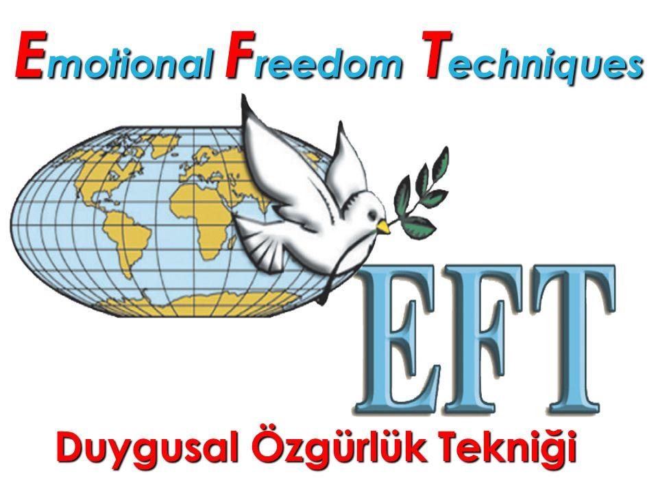 E motional F reedom T echniques Duygusal Özgürlük Tekniği