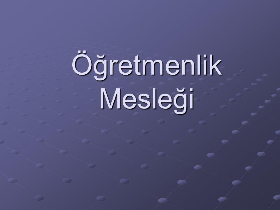 Türkiye'de kamu görevlilerinin yaklaşık ¼'ü öğretmendir.