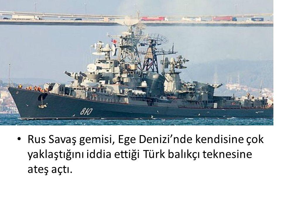 Türkiye'nin Tedbirleri Angajman kurallarını işlettiğini söylüyor.