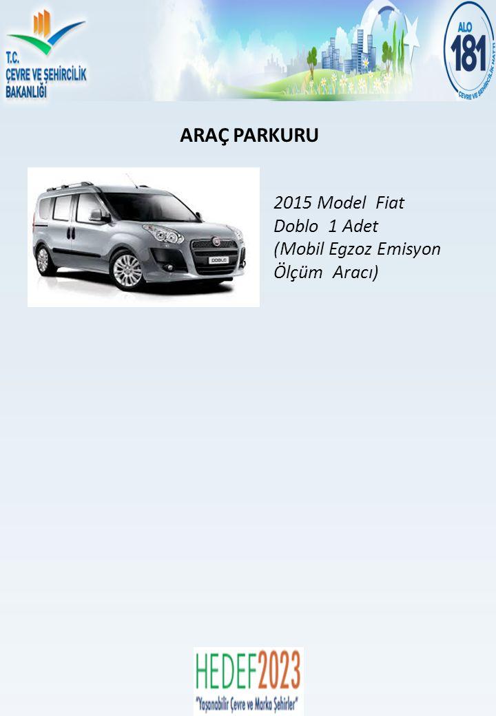 ARAÇ PARKURU 2015 Model Fiat Doblo 1 Adet (Mobil Egzoz Emisyon Ölçüm Aracı)
