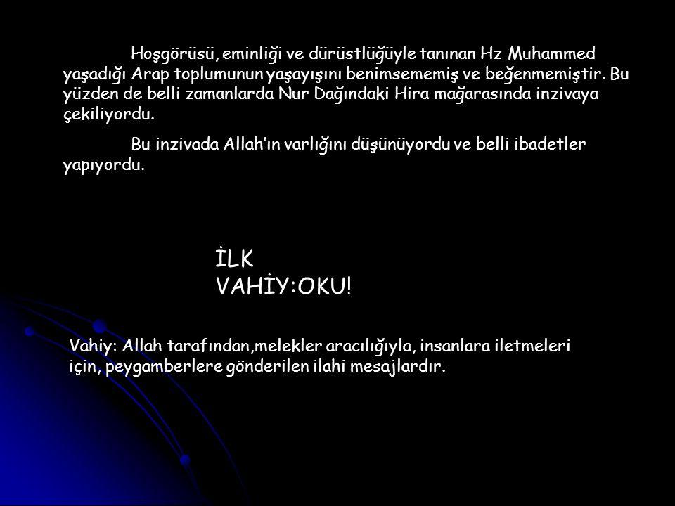 Efendimiz 40 yaşındayken, inzivaya çekildiği zamanlardan Ramazan ayının 27.