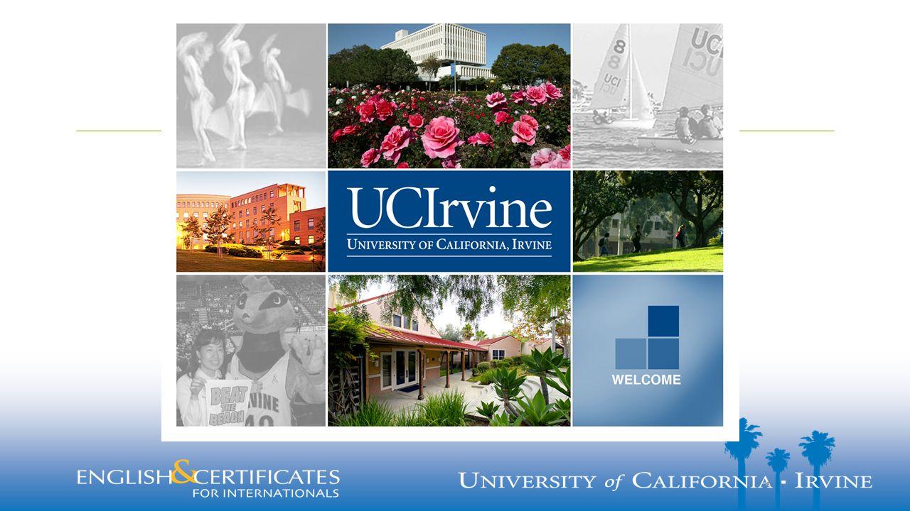  UC Irvine Güney California'da (Orange County) de bulunmaktadır  Amerika'daki şuç oranının en düşük olduğu bölgedir  Akdeniz iklimine sahiptir, Pasific Okyanusu sahilindedir.