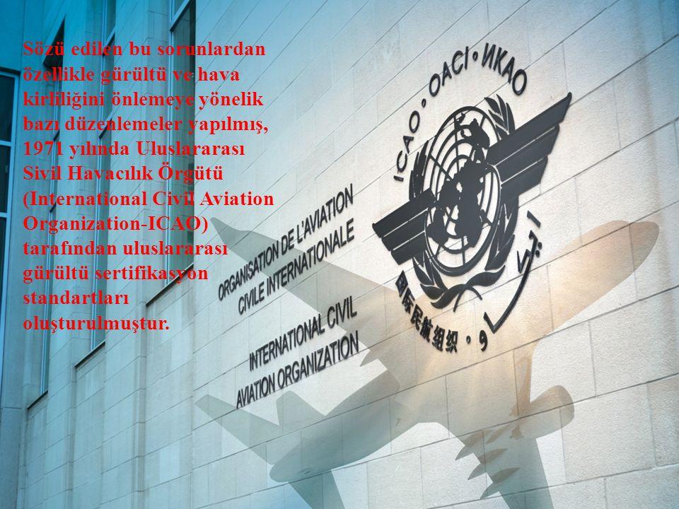Sözü edilen bu sorunlardan özellikle gürültü ve hava kirliliğini önlemeye yönelik bazı düzenlemeler yapılmış, 1971 yılında Uluslararası Sivil Havacılı