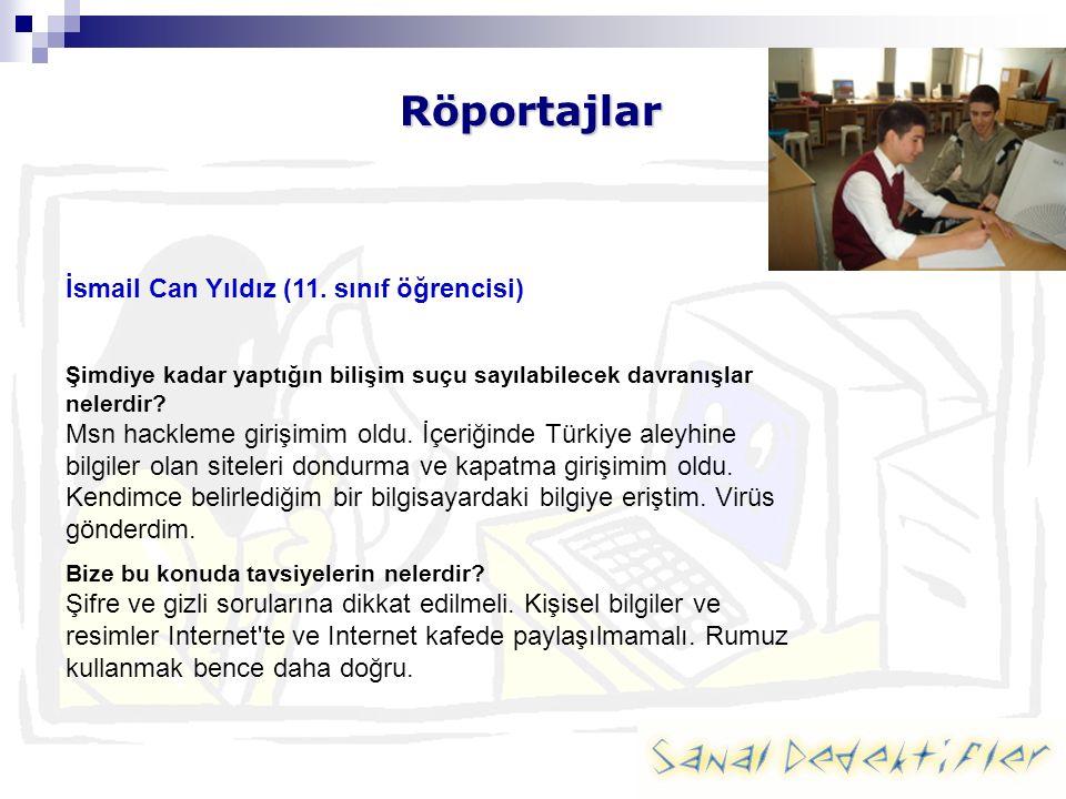 Röportajlar İsmail Can Yıldız (11.