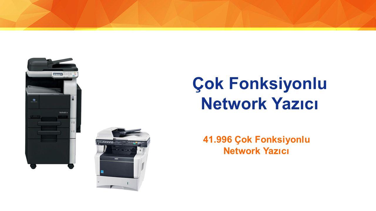 Çok Fonksiyonlu Network Yazıcı 41.996 Çok Fonksiyonlu Network Yazıcı