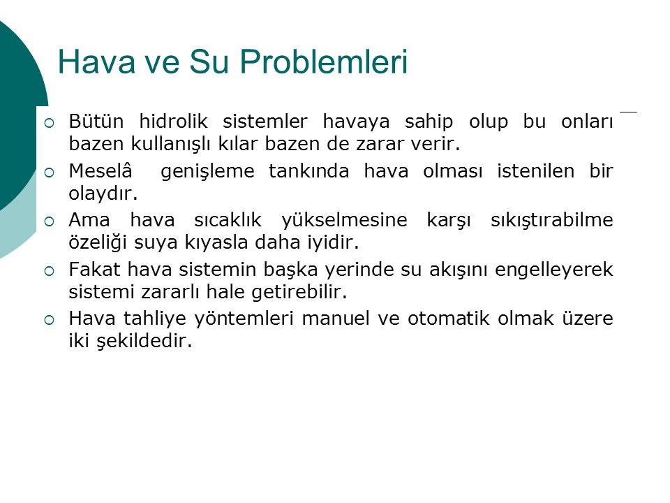 Kondenser ve Soğutma Kulelerinin Problemleri  Genelde bakım yetersizliğidir.
