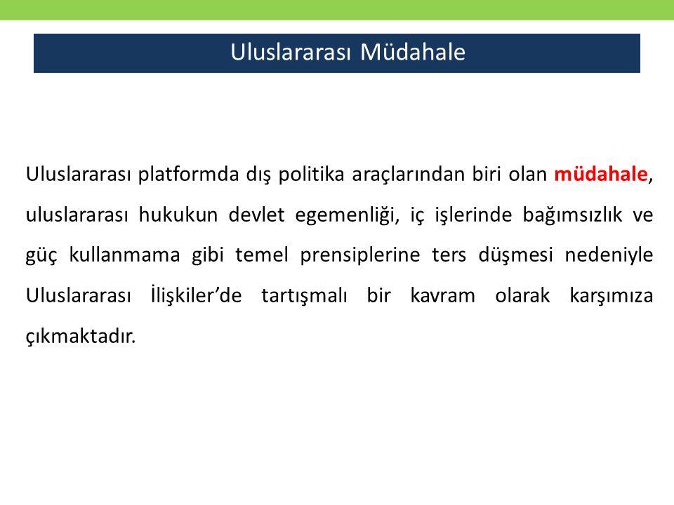 Kaynakça Şaban Kardaş, Ali Balcı, (Editörler), Uluslararası İlişkilere Giriş, Küre Yayınları, İstanbul, 2014