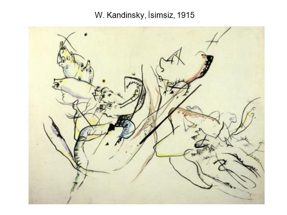 W. Kandinsky, İsimsiz, 1915