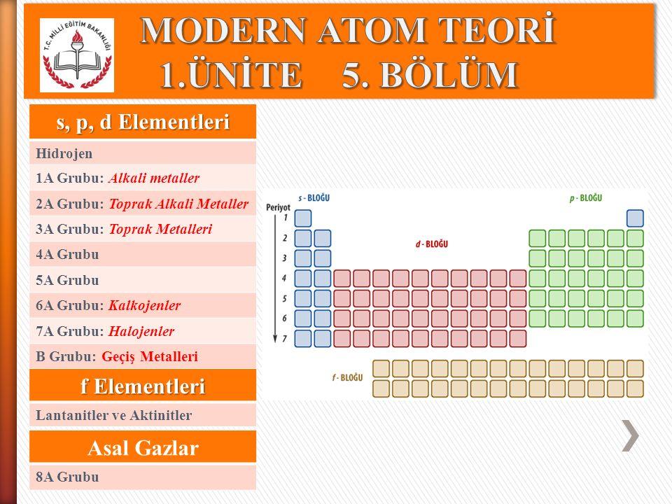 ELEMENTLERİ TANIYALIM 6A Grubu Elementleri ( ns 2 np 4, n ≥ 2 ) Elementel kükürdün ve selenyumun molekül formülleri sırasıyla S 8 ve Se 8 dir.