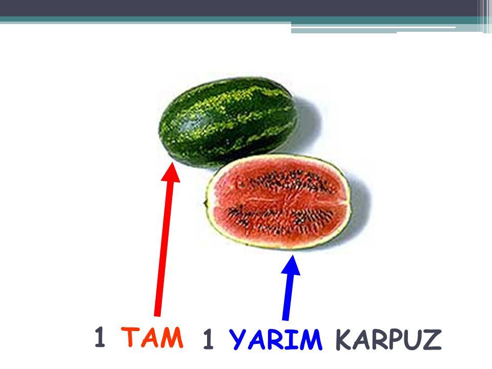 Resimdeki yarım olan meyvenin adı nedir? kivi