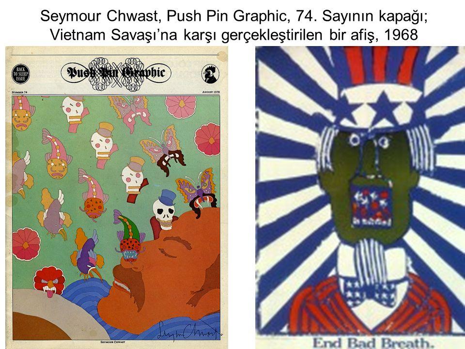 Seymour Chwast, Push Pin Graphic, 74.