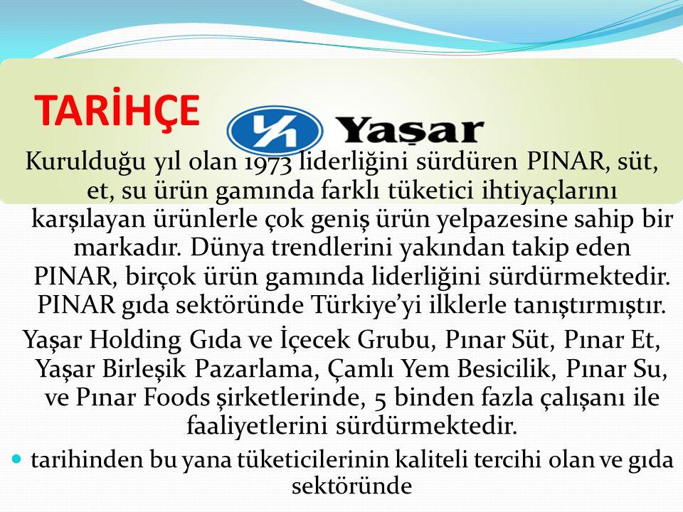 SOSYAL SORUMLULUK PROJELERİ PINAR KSK(KARŞIYAKA) Pınar, 1998 yılından bu yana Pınar Karşıyaka adıyla Türkiye Basketbol Birinci Ligi'nde mücadelesine devam eden basketbol takımını reklam bazında desteklemektedir.
