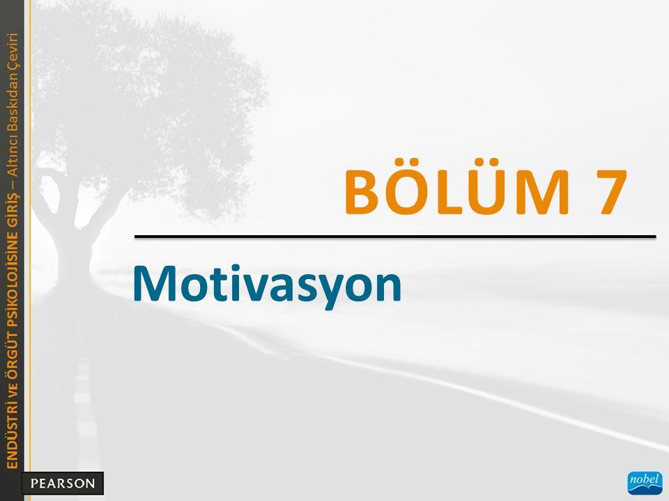 Motivasyon BÖLÜM 7