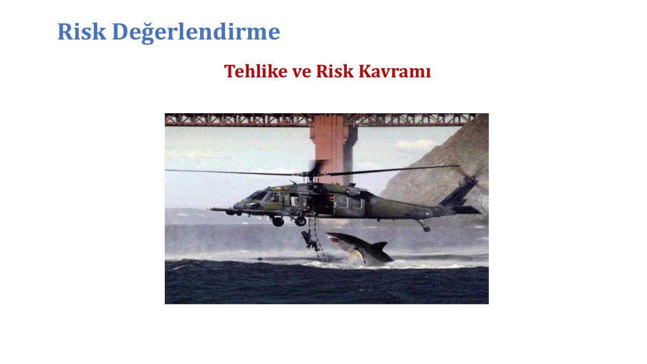 Tehlike ve Risk Kavramı Risk Değerlendirme