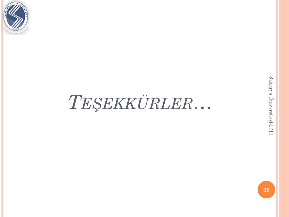 K AYNAKLAR http://hiq.linde- gas.com/international/web/lg/spg/like35lgspg.nsf/ docbyalias/downl_information Gaz kromatokrafisi, Eda Açıkgöz, Mustafa Kemal Üniversitesi, 2011 http://www.shsu.edu/~chm_tgc/sounds/sound.htm l Gaz kromatokrafisi, Serkan Aydoğan 39 Sakarya Üniversitesi-2011