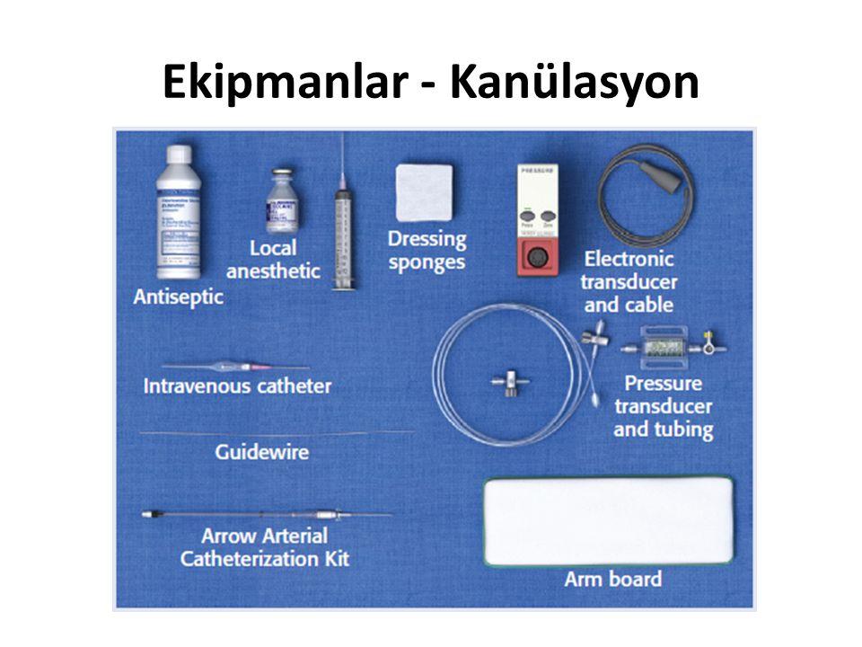 Ekipmanlar - Kanülasyon