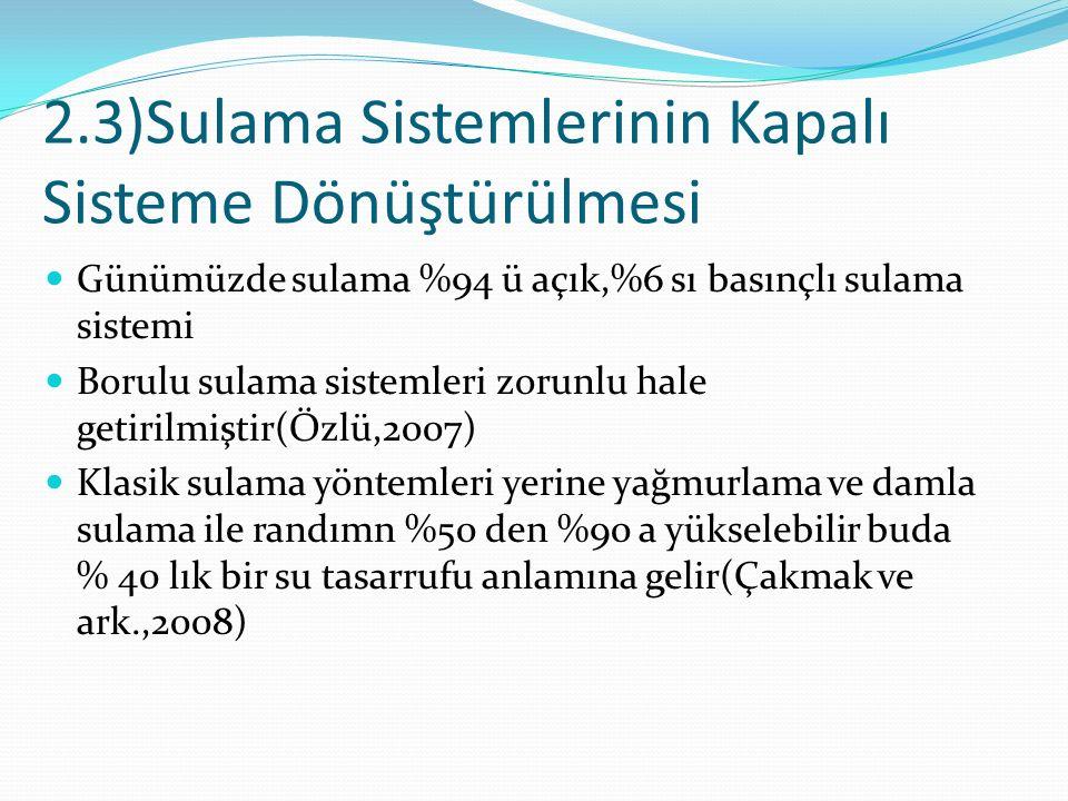 2.4)Kırsalda Enerji Sorunu Türkiye enerjide dışa bağlı bir ülke Dünya'da kullanılan enerjinin %20 si yenilenebilir,%80'i ise yenilenemeyen enerji kaynağıdır.