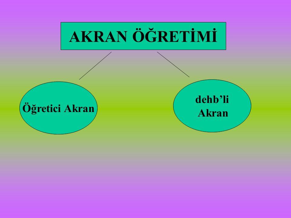 Öğretici Akran dehb'li Akran
