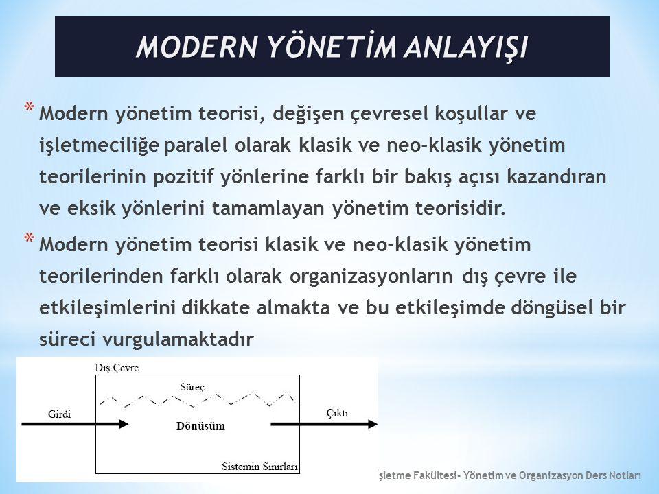 16 * Sistemin Sınırları: Sistemin çevresiyle yakından ilişkili bir diğer özellik sistemin sınırlarıdır.