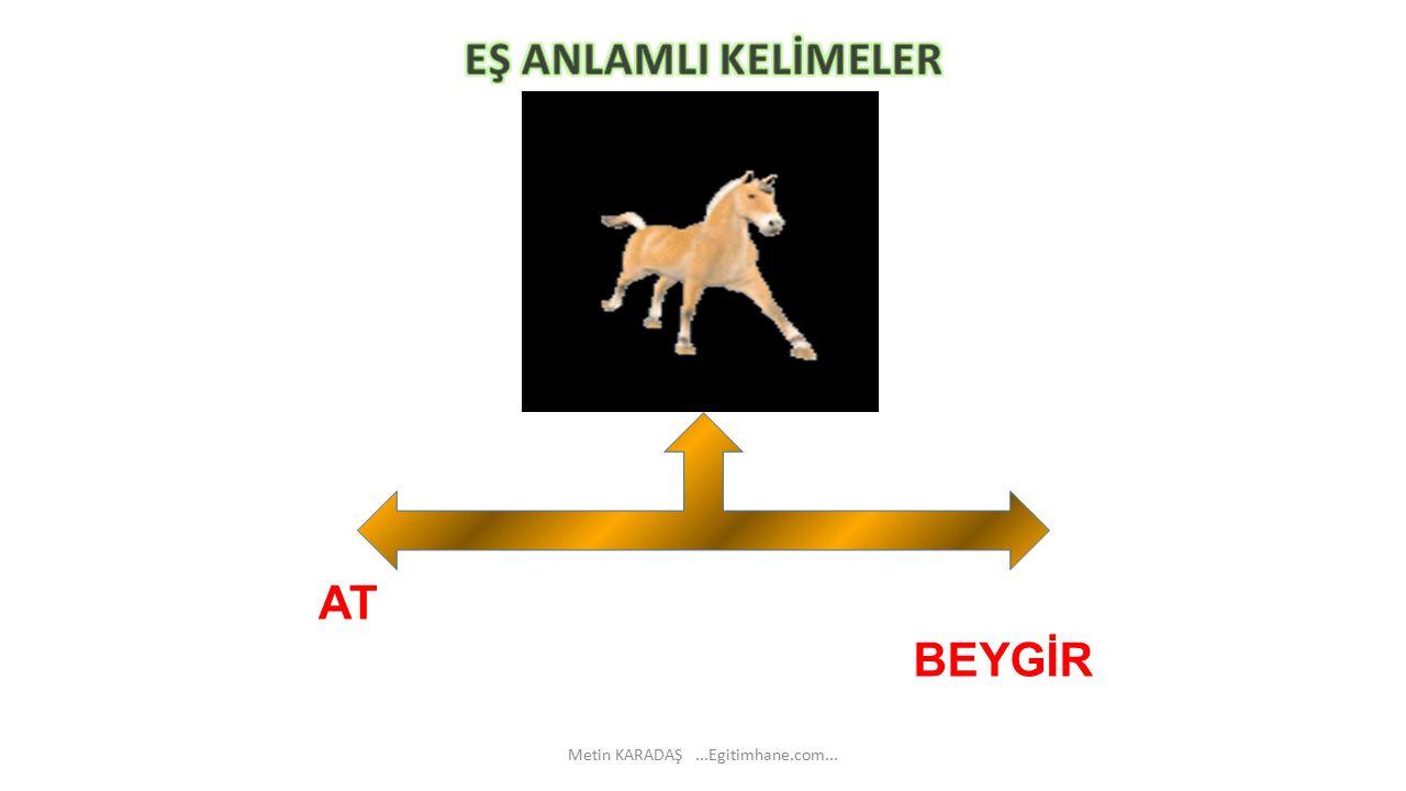 BEYGİR AT Metin KARADAŞ...Egitimhane.com...