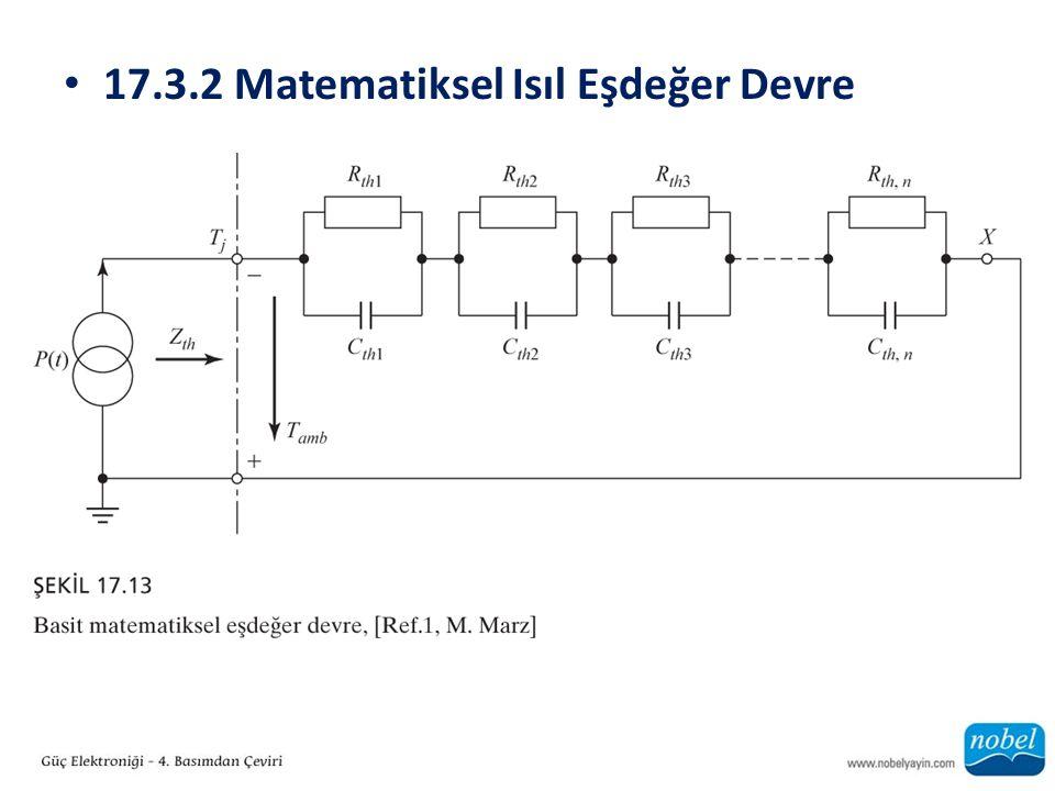 17.3.2 Matematiksel Isıl Eşdeğer Devre