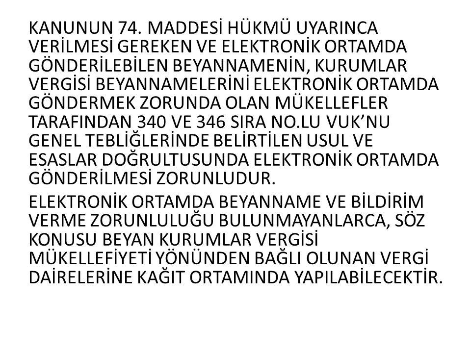 KANUNUN 74.
