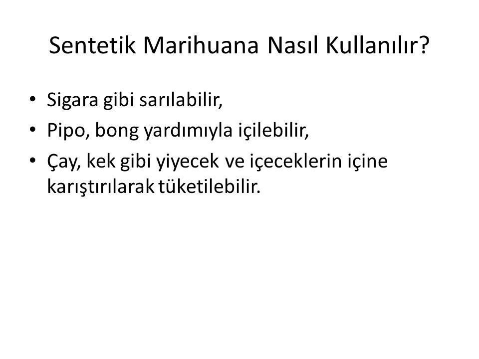 Sentetik Marihuana Nasıl Kullanılır.