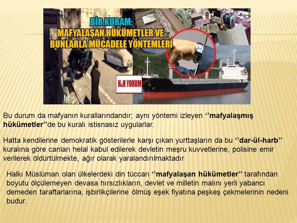Aynı zamanda suça bulaşmış zirvedeki yöneticilerin çocuklarını savcı ifadeye çağırsa bile bunları polis götüremez.