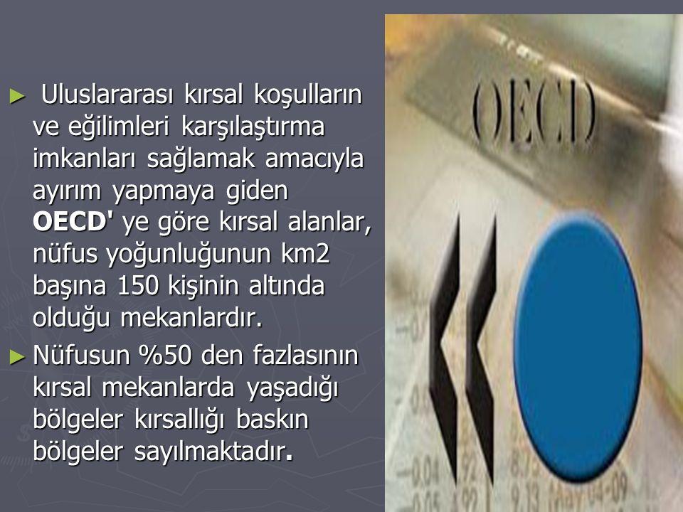 Türkiye nin uzun vadeli gelişme stratejisi ile tespit edilen bu temel amacına ulaşmasına aşağıdaki alanlarda sağlayacağı katkılar nedeniyle önem taşımaktadır: ► Kırsal alanın ülke ekonomisine katkısının artırılması ve kırsal toplumun yaşam kalitesinin yükseltilmesi suretiyle bölgeler ve kır- kent arasındaki gelişmişlik farklarının azaltılması