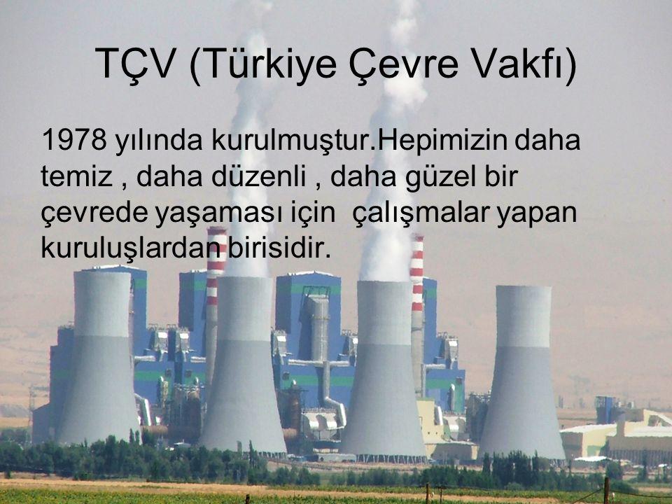 ÇEKÜL VAKFI Türkiyedeki doğal ve kültürel mirasını korumak amacıyla 1990 yılında vakıf statüsünde kurulmuş, bir sivil toplum kuruluşudur.